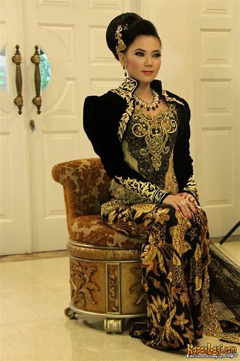 kebaya pengantin 008 foto intip detil baju pernikahan purie mahadewi