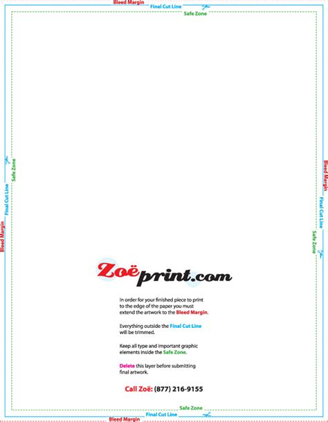 business card template 12x18 printing templates zoeprint