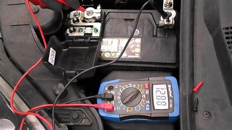 verification de letat dune batterie de lalternateur