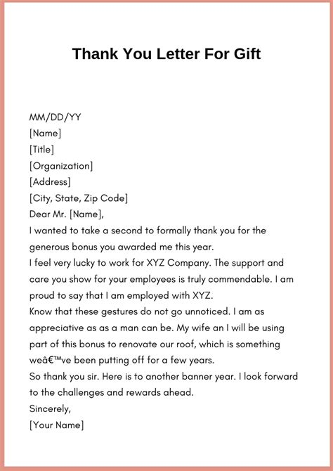 write   letter template  gift   wikii