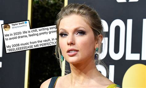 Taylor Swift's 'Mr Perfectly Fine' Lyrics Revive Her 2008 ...