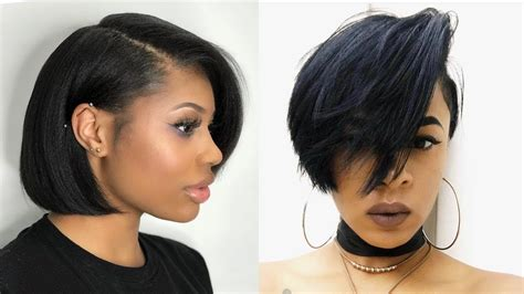 2019 Bob Hairstyles For Black Women (black Women's Hair