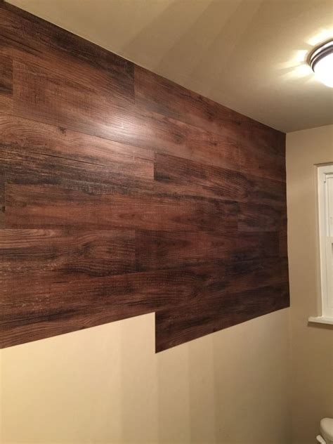 faux wood wall hometalk