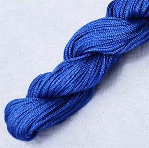 Crafts Chinese Knot Satin Nylon Braided Cord Macrame