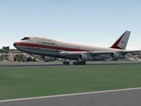 Plane X Boeing 747