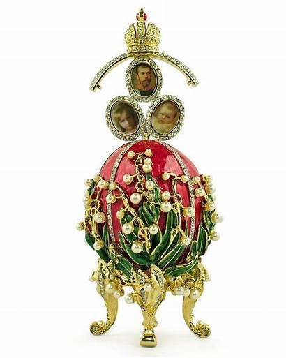 Faberge Egg Eggs Russian Valley Lilies Imperial