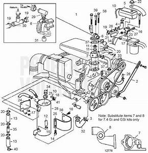 Volvo Penta Exploded View    Schematic Freshwater Cooling 7