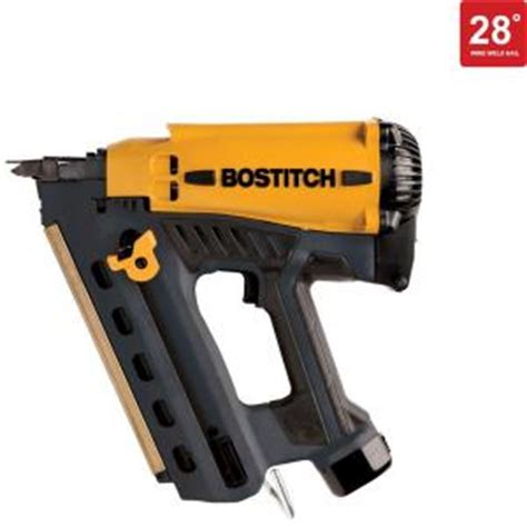Bostitch Floor Nailer Home Depot by Bostitch 7 2 Volt Cordless 28 Degree Wire Weld Framing