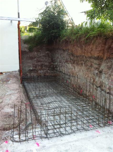 hangsicherung und betontreppe hausbau ein baublog