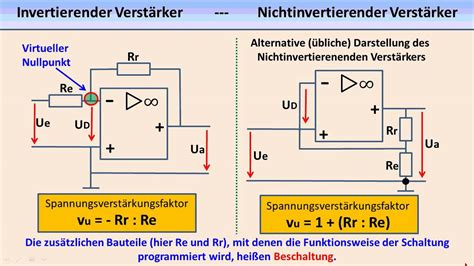 elektronik tutorial  operationsverstaerker youtube