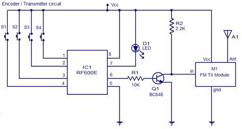 fm remote encoderdecoder  circuit