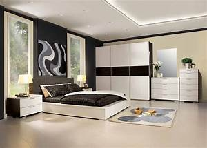 Modern Black Bedroom Furniture Popular Interior House Ideas