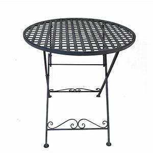 Table Fer Forgé Jardin : table jardin en fer strasbourg maison design ~ Teatrodelosmanantiales.com Idées de Décoration