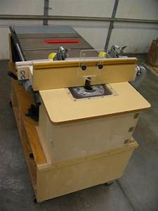Router And Table Saw Cart