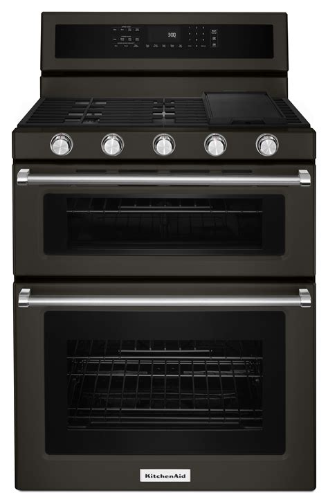"Kitchenaid Kfgd500ebs 30"" 5 Burner Gas Double Oven. Kitchen Home Design. Kitchen Designs Small Spaces. The Kitchen Designer. Kitchen Design Trends 2014"