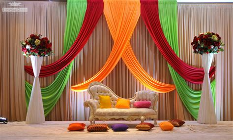 Wedding Ideas  Elegant Stage Decoration For Wedding
