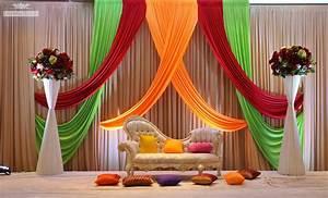 Wedding Ideas : Elegant Stage Decoration For Wedding