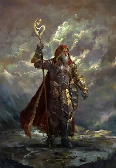 Wizard Fantasy Emilis December Emka Artstation Artwork
