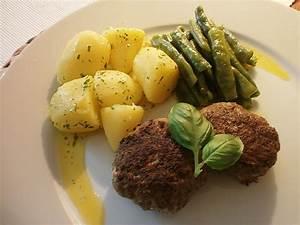 Kartoffeln Aufbewahren Küche : frikadellen mit kartoffeln an glasierten brechbohnen von ~ Michelbontemps.com Haus und Dekorationen