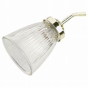 Sea gull lighting ceiling fan glass collection clear ribbed shade  the home depot