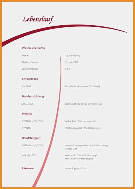 Lebenslauf Richtig Gestalten by 7 Lebenslauf Sch 252 Ler Zum Ausf 252 Llen Australian