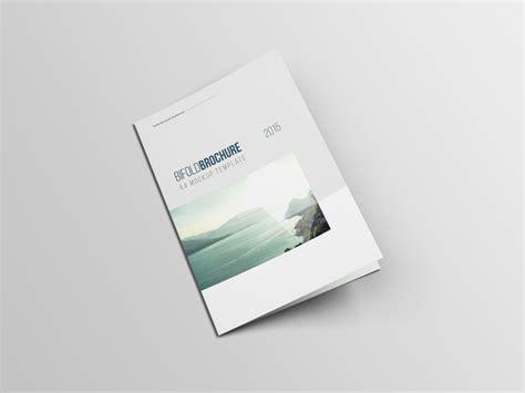 A4 Bifold Brochure Mockup A4 Bifold Brochure Mockup Free Psd File