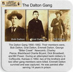 25 best Outlaws & Gangsters Beverage Coasters images on ...