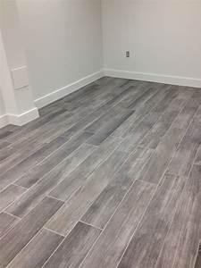Gray Wood Tile Floor Amazing Tile