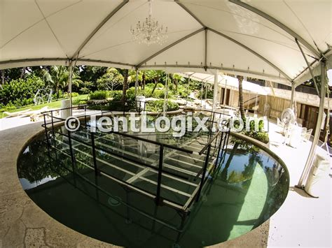 Clear Acrylic Pool Covers