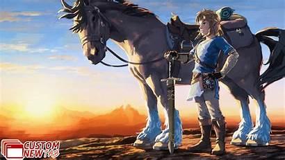 Zelda Breath Legend Wild Wallpapers Newtabsy