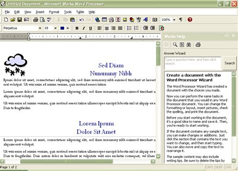 28 word processor templates what s the best free word