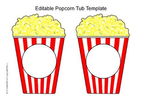 popcorn template editable popcorn tub templates sb11152 sparklebox