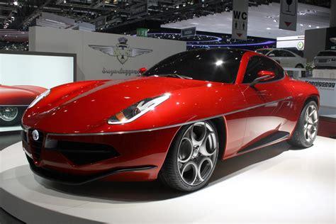 alfa romeo disco volante touring concept car