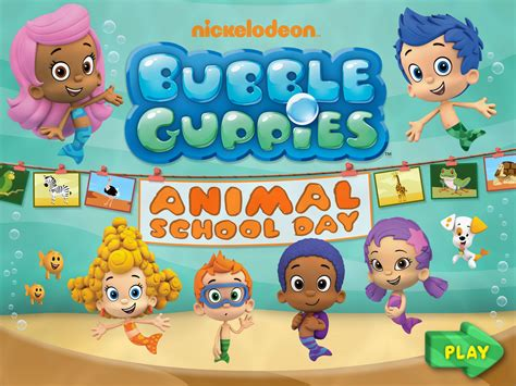 Bubble Guppies Animal School Day App  Bb Product Reviews