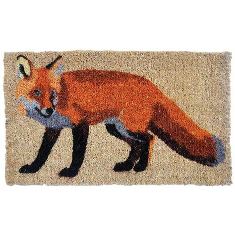 Fox Doormat by Doormat Fox Coir Esschert Design Usa