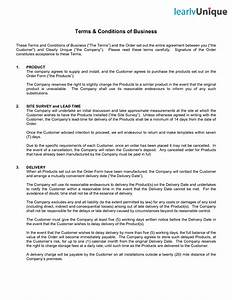 terms and conditions template incheonfair With contractor terms and conditions template