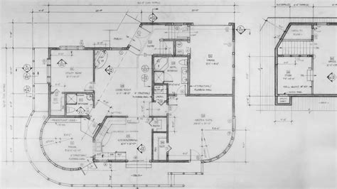autocard drawing buildind layout autocad house plan