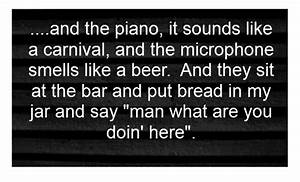 Billy Joel - Pi... Manly Music Quotes