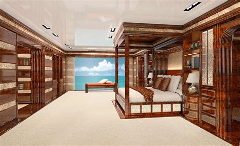 Luxury interior design for yachts
