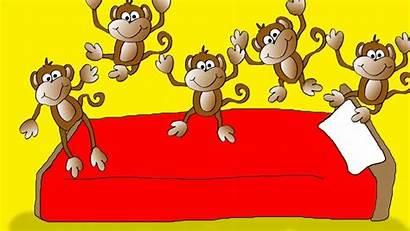 Monkeys Rhymes Nursery Rhyme Number Jumping Bed