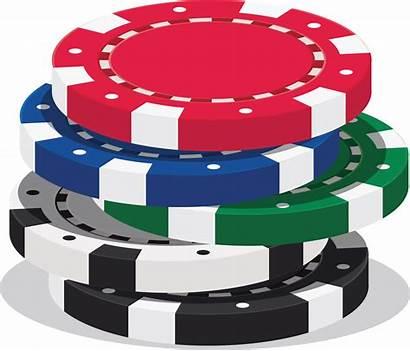 Clipart Poker Casino Chip Transparent Stack Webstockreview