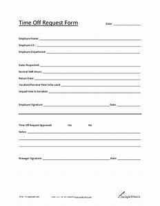 5 Vacation Request Form Templates