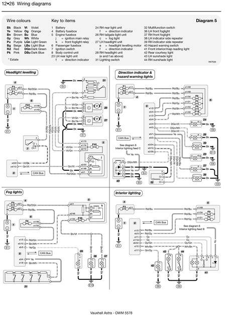 vauxhall astra wiring diagram wiring diagram and schematics