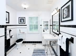 black and white tiled bathroom ideas black and white bathrooms design ideas decor and accessories