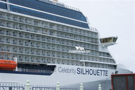 celebrity silhouette deck plans cabin diagrams pictures