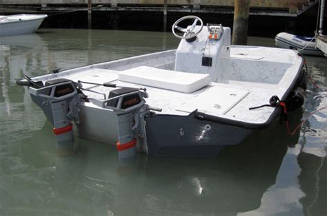 Bay Boat Twin Engine by Torqeedo Electric Outboards Boats