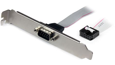 serial port pci brackets   pin motherboard  port