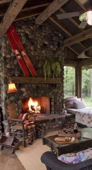 cabin feverhot fireplace designs