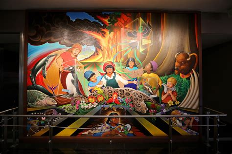 Denver International Airport Murals In Order by 8 Conspiracy Theories About The Denver Airport That Ll