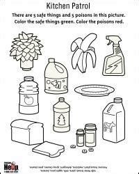 site for poison prevention worksheets ideas for work